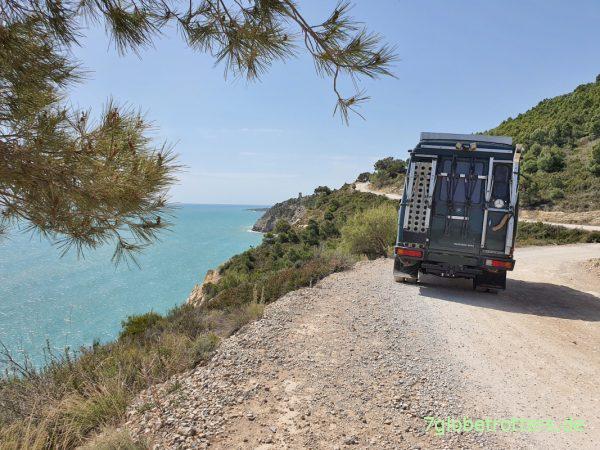 Unterwegs mit dem Reiseführer Spanien