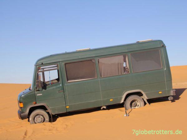 Grenzen für den 4x2-Offroad-Camper