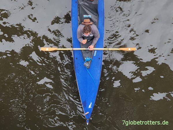 Holzpaddel fürs klassische Faltboot
