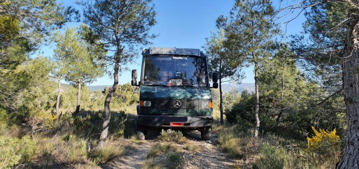 Offroad mit dem 4x2-Camper