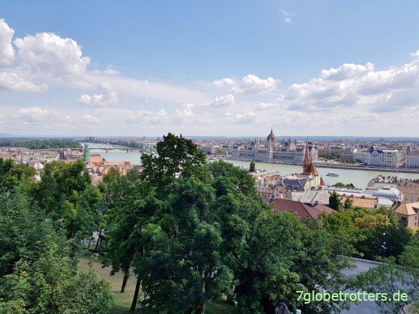 Autobahnmaut in Ungarn, Blick auf Budapest