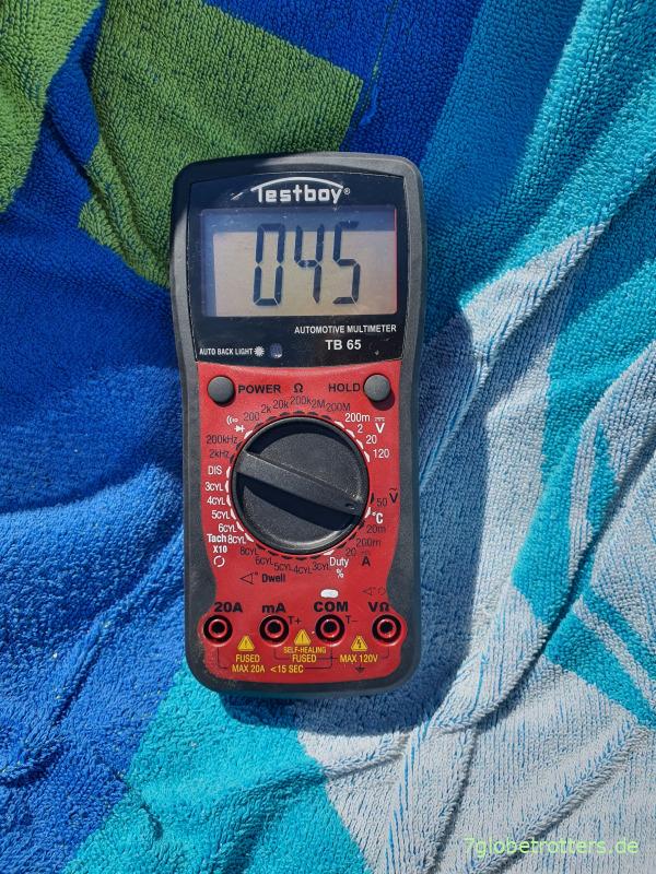 Hitzeschutz fürs Wohnmobil bei 45 Grad Außentemperatur