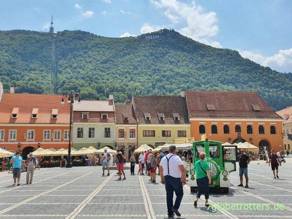 Marktplatz von Brașov Kronstadt in Rumänien