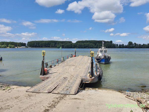 Donaufähre Tulcea - Vladimirescu