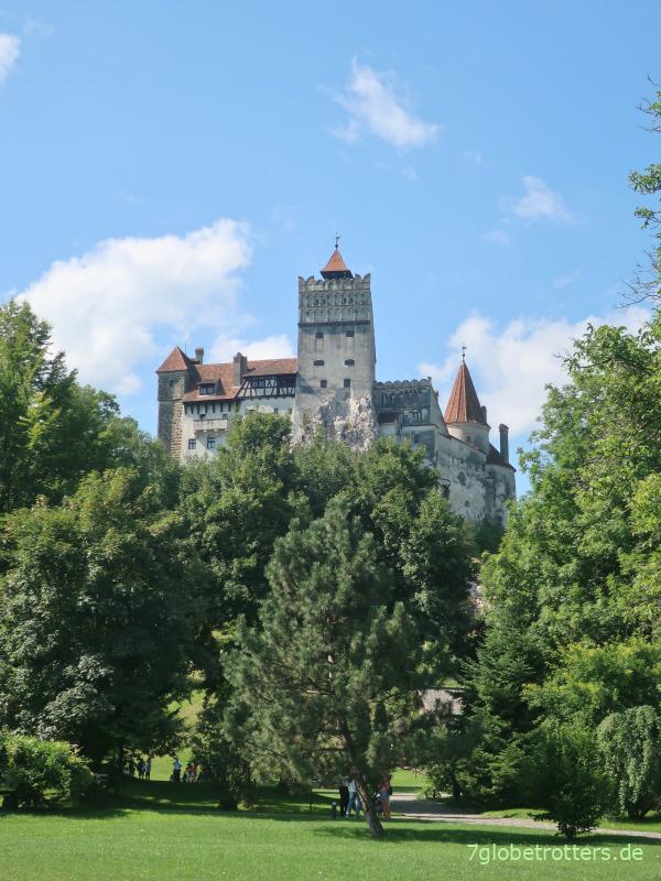 Das angebliche Dracula-Schloss Bran in den rumänischen Karpaten