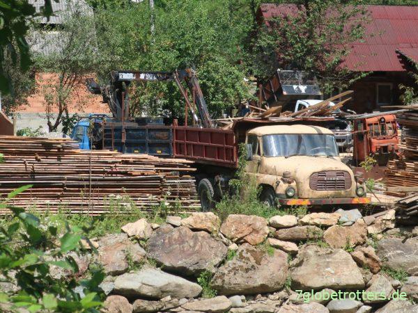 Wassertalbahn: Mit der Schmalspur-Dampflok durch die Wälder der Maramuresch in Rumänien
