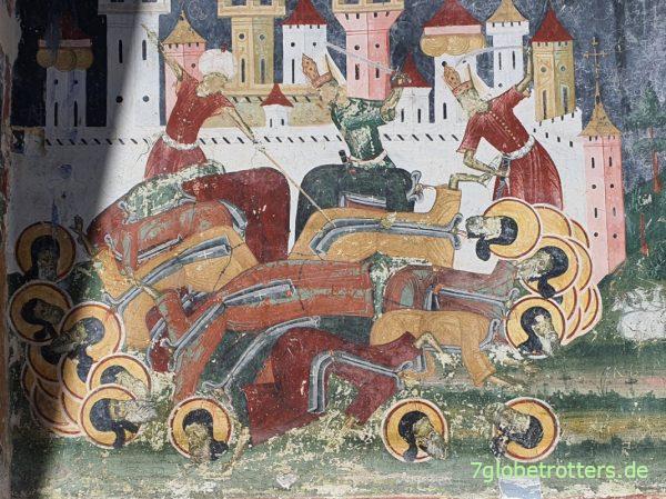 Kloster Sucevița in der rumänischen Moldau