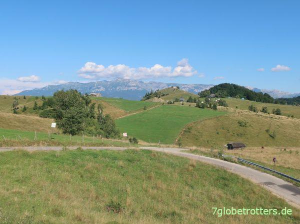 Dâmbovicioara-Schlucht mit Höhle im rumänischen Königsteingebirge