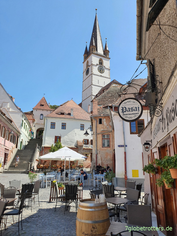 Tipps zu LKW-Parken und einem Stadtrundgang durch Sibiu / Hermannstadt