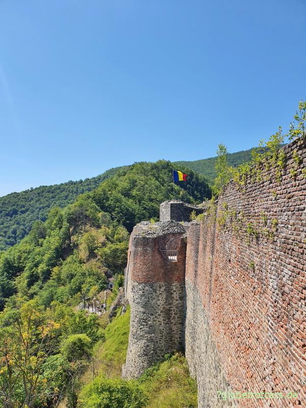 Rumänien: Festung Poienari - die echte Dracula-Burg