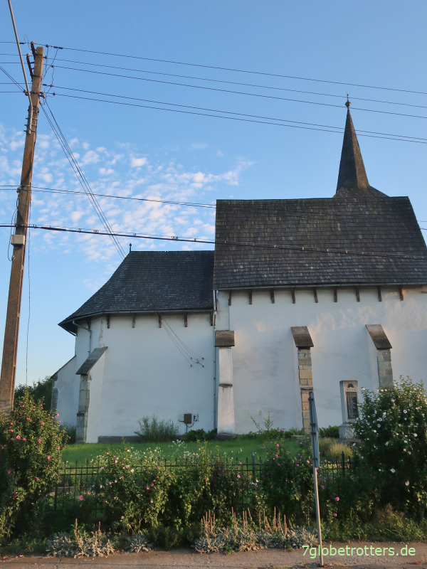 Feuerstrom im Moldaukloster Voronet