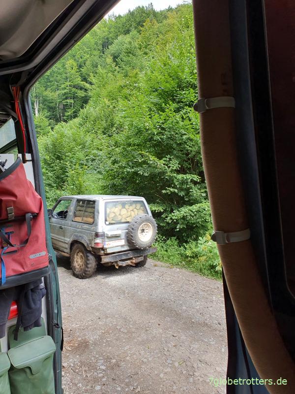 Waldpisten in der Maramuresch, Rumänien
