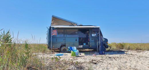 Wildcampen am Schwarzen Meer