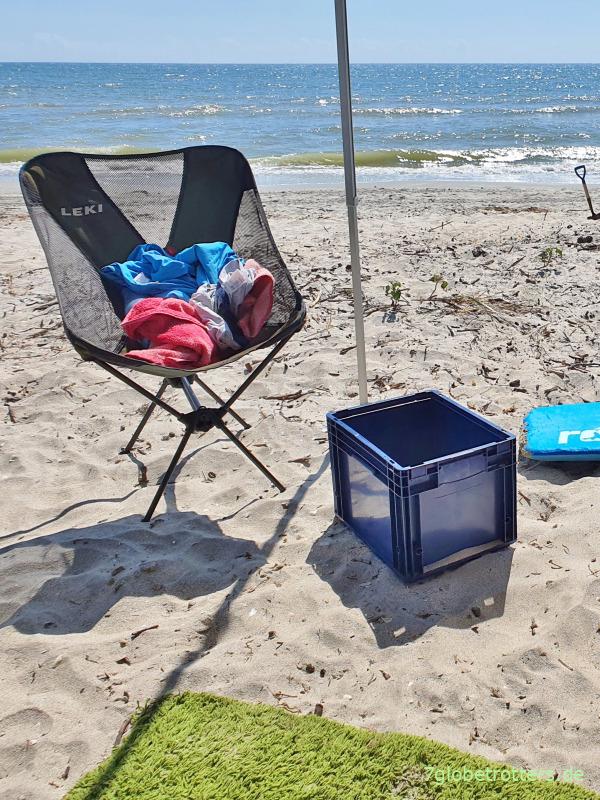 Wohnmobil autark machen: Praxisbericht vom Kinder-Strandurlaub