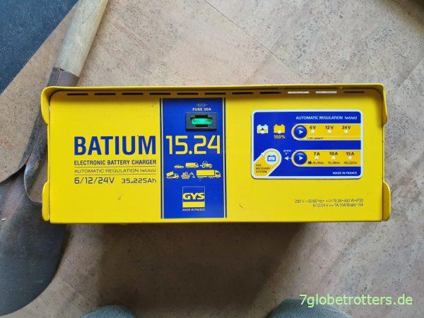 Bedienpanel Batterie-Ladegerät GYS Batium 15.24