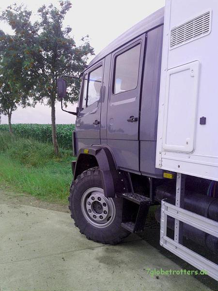 Basisfahrzeuge mit kurzer Doka gibt es in der Schweiz