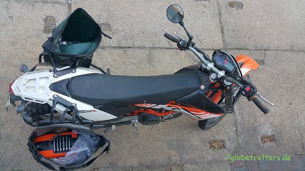 Mein neues Schweißgerät kann ich sogar zu Motorradtour mitnehmen
