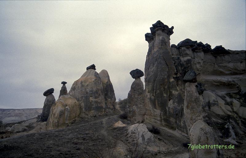 Von Ankara ist es nicht mehr weit bis zu den Pilzfelsen von Göreme