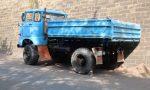 ᐅ Himmelblauer Held der Arbeit: IFA W50 Allrad-Kipper
