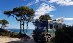 ᐅ Griechenland: Stellplatz am schönsten Strand von Sithonia