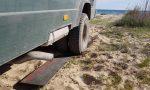 ᐅ Busbergung am griechischen Sandstrand mit GFK-Anfahrhilfen