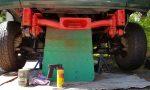 ᐅ Rahmen lackieren mit Rostschutzfarbe: RAL 3000 siegelrot aus der Spraydose