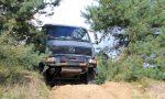 ᐅ Mercedes MB 1124 AF: Expeditionsmobil offroad auf russischer Panzerfahrstrecke